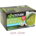 Подробнее о 012302 Itoen Matcha Green Tea Чай зеленый с ромашкой, 20 пакетов, 30 гр